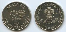 G3785 - Ungarn 100 Forint 1985 Fussball WM Mexiko 86 KM#648 Hungary Magyar