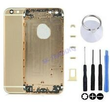 "COQUE CHASSIS ARRIERE ALUMINIUM KIT BOUTONS POUR IPHONE 6 4.7"" OR CHAMPAGNE GOLD"