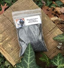 Black Salt 4oz Bag Remove Negative Energy Special Recipe Wicca Witchcraft Pagan