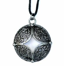 Celtic Pentney Cross Pewter Pendant Necklace Courtney Davis CD12