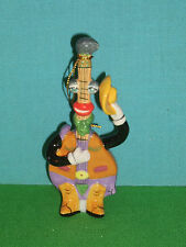 Country Mandolin Ceramic Christmas Ornament or Figure Ed Sussman Retired MIB
