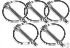 """5 x Linch Pin 7/16"""" 6mm Tractor trailer horse box etc"""