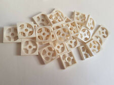 Lego White Turntable 2x2 Plate Base, Part 3680, Element 368001, Qty:25 - New