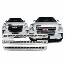Chrome Grille Overlay (3 Pieces Kit) for 2016 2017 GMC Terrain