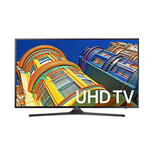 "Samsung UN40KU6300 40"" 4K Ultra HDR 120Hz Smart LED TV Smart Apps Netflix Hulu"