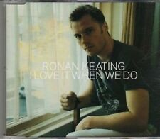 (CF389) Ronan Keating, I Love It When We Do - 2002 DJ CD