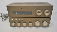 HEATHKIT WA-P2 Preamplifier Preamp & FM-3A Tuner - Not Working for parts/ repair