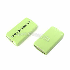 1 pc 400mAh 1.2V 2/3 F6 NiMH Gumstick Rechargeable Battery CD MD HI-MD Green