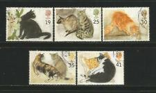 GREAT BRITAIN 1995 'Cats' Complete Set In Used Condition
