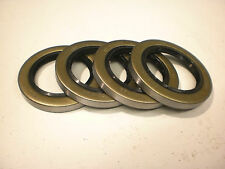 "Four -Trailer Axle Grease Seals 6000# 7000# 2.25"" #22333 10-36 Double lip Camper"