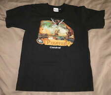CARNIVAL Cruise Pirate Ship Black SHIRT Sz Adult Small S Teen Boy Treasure