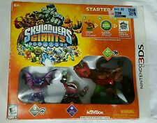 SKYLANDERS GIANTS STARTER PACK FOR NINTENDO 3DS NEW SEALED