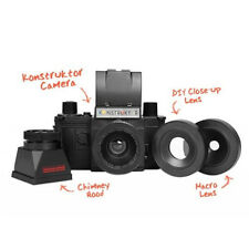 Lomography Konstruktor DIY Super Kit Build Own 35mm SLR Camera Black Lomo #752