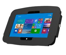 Surface 2/Pro 2 Enclosure Wall Mount - Surface Tablet Lock - Black