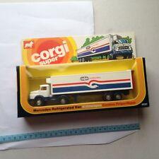 Vintage Corgi  Juniors Super Mercedes Refrigerated Lorry Van Birds Eye No 2020