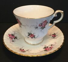 Princess House Hammersley Fine Bone China Collectible Footed Tea Cup And Saucer