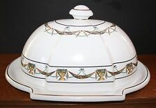 Serving Platter & Dome Lid GREAT CITY TRADERS Portugal Turkey Platter NM