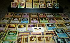 Huge 65 Card lot of the Original 151 Pokemon Cards 1st Editions RARES + HOLOS!!!