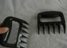 2pcs paws Claws Meat Handler Fork Tongs Pull Shred Lift Toss Pork BBQ Tool