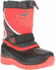 Ozark Trail Girl's Temp Rated Winter Boot Size 2 Multi Color