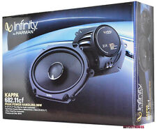 "Infinity KAPPA 682.11cf 6"" x 8"" 2-Way Kappa Series Coaxial Car Speakers 5X7"""