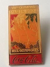 OLYMPIC PIN´S COCA COLA - PARIS 1924 POSTER PIN - VIII OLYMPIAD  (E0520)
