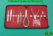 9 PCS Professional Quality nail Manicure Kit Tools SET