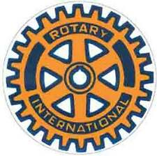 Rotary Club International      Vintage  1950's-Style  Travel Decal/Sticker