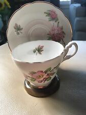 Regency Bone China Footed Tea Cup and Saucer, Made In England.