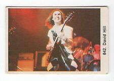 1970s Swedish Pop Star Card UK Rock Band Slade Lead Guitarist Dave David Hill