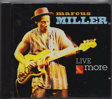 MARCUS MILLER CD LIVE MORE