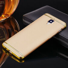 OnePlus 3 3in1 Hybrid pc Hard Back Cover Electroplating Case For OnePlus 3 Gold