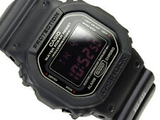 "CASIO G Shock DW 5600MS-1 ""Red Eye"" Military Inspired Series Digital Watch"