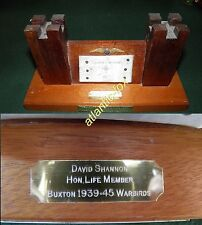 1986 Unique gift to DAMBUSTER DAVID SHANNON DSO DFC Derwent Dams Flypast