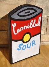 Campbell's Soup Can Pop Folk Sculpture Painting Listed Texas Artist Paco Felici