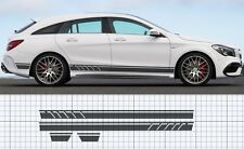 Mercedes-Benz CLA sport brake AMG Style Side stripe Decal Set Edition style