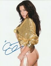 Christa Campbell Autograph Signed Photo 8x10 #13