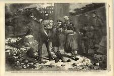 1855 Allied Soldiers Singing No More Trenches Sevastopol Street