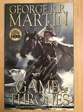 SIGNED George R R Martin A Game Of Thrones Comic #13 1st Print HBO +Pic Jon Snow