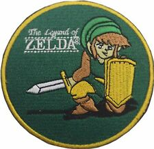 The Legend of Zelda Patch Embroidered Badge  Iron / Sew on 9cm
