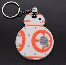 Star Wars BB-8 Droid Robot Rubber Keychain Double Sided 3 Inches US Seller