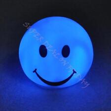 Smile Face Multi Color Changing LED Night Light Lamp Romantic Party Kids Gift