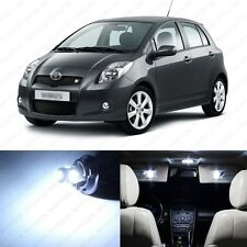 6 x Xenon White LED Interior Lights Package For 2007 - 2011 Toyota Yaris