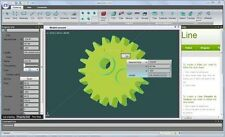 NaroCAD Extensible 3D Parametric Modeling CAD Software Application Windows PC