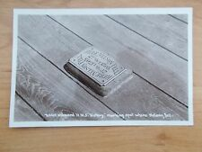 VINTAGE POSTCARD - WHERE ADMIRAL NELSON FELL - ABOARD HMS VICTORY