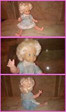 Bambola in plastica anni 60' occhi movibili e meccanismo vocale funzionanti