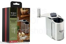 Kitchen Craft Italian Collection Rotary Steel Parmesan Cheese Grater & Storer
