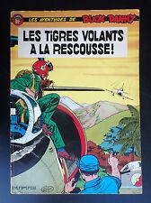 Album broché Buck Danny Les tigres volants à la rescousse 1965 BE + à TBE