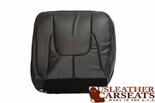 2002 2003 Dodge Ram 1500 Driver Side Bottom Leather Seat Cover Dark Gray
