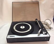 Vintage Philips Holland Record Player Turntable Singles 22 GA105/04Z WORKING!